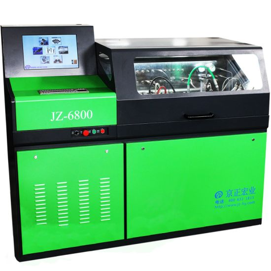 Jz-6800 Factroy Price Common Rail Injector Pump Test Bench