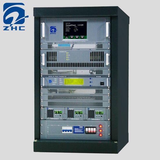 New 3kw FM Broadcast Transmitter