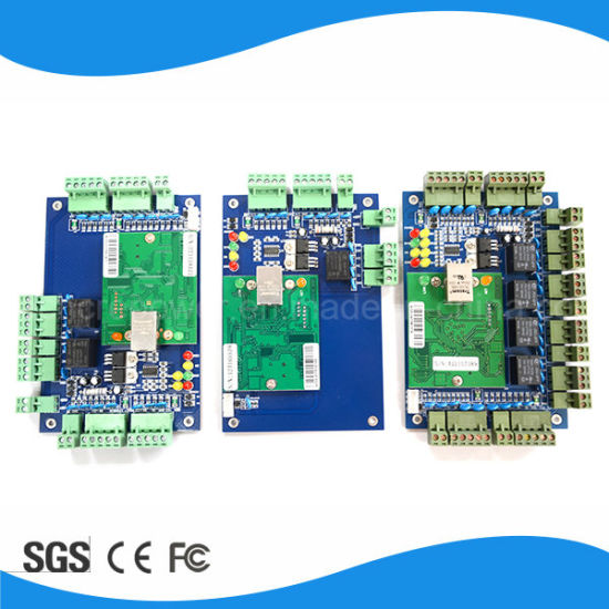 TCP/IP 4 Door 4 Reader Network Access Controller Board pictures & photos