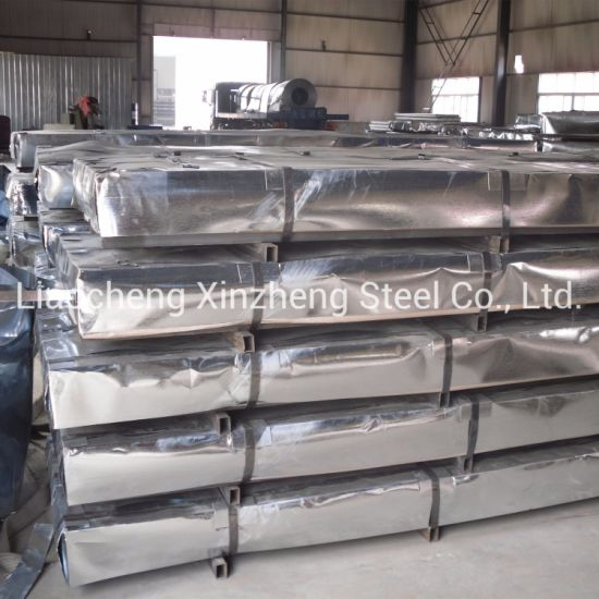 0.14mm Building Material Corrugated Galvanized Steel Sheet for Roofing