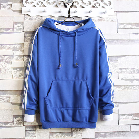 b8834760 Leisure Apparel OEM 100% Polyester Blank Men Hoodies pictures & photos