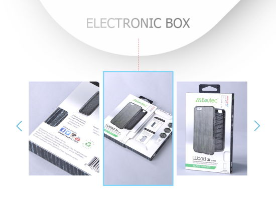 Modern Custom Convenient Paper Sleeve Cardboard Electronics Accessories Box pictures & photos