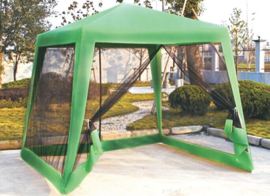 Polyester PU Coating Gazebo with Mosquito Mesh pictures & photos