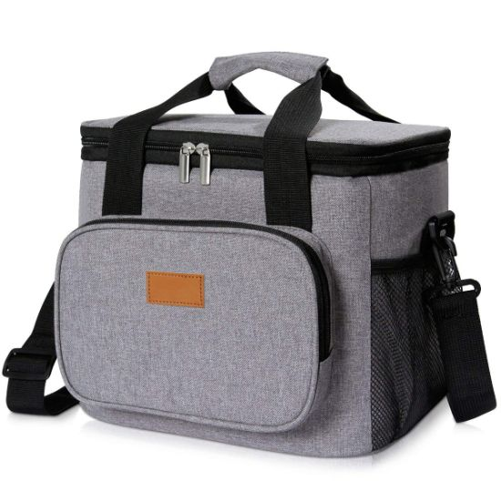 PREMIUM Insulated Thermal School Work Travel Lunch Bag Cooler Thermal Picnic Box