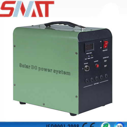 30W Solar System Home with 24ah Battery and Controller Solar Lighting System