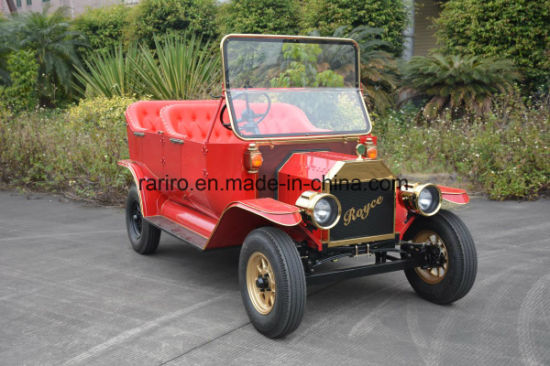 Unique Design Sturdy Smart Golf Cart Antique Electric Car pictures & photos