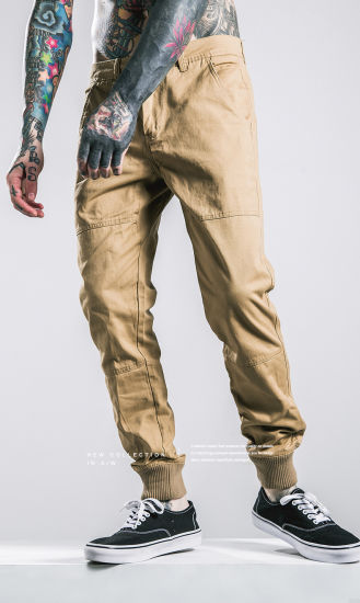 Cool Style Trendsetter Jogger Pants with Ribbing Leg Opening pictures & photos