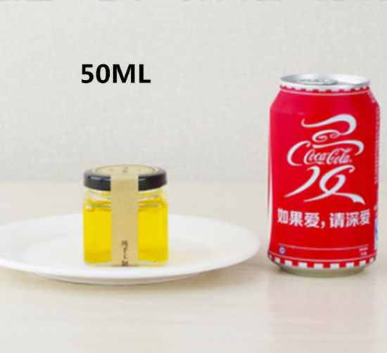 50ml Honey Pickles Lead-Free Glass Bottle