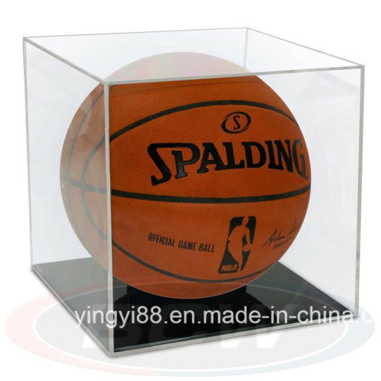 Durable Acrylic Basketball Display Case Wholesale pictures & photos