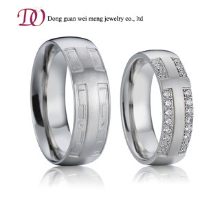 925 Sterling Silver Wedding Band Ring Engagement Diamond Ring pictures & photos