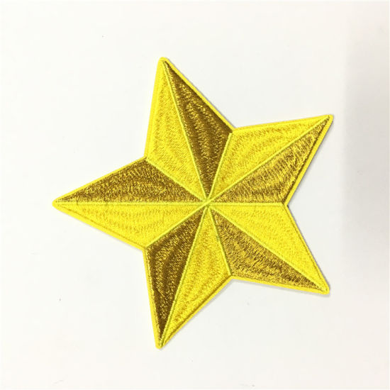 Professional Embossed Embroidery Applique Patches