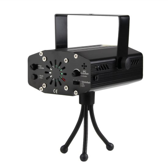 Disco Laser Light Multifunction Twinkling Star Stage Light with Remote Control pictures & photos