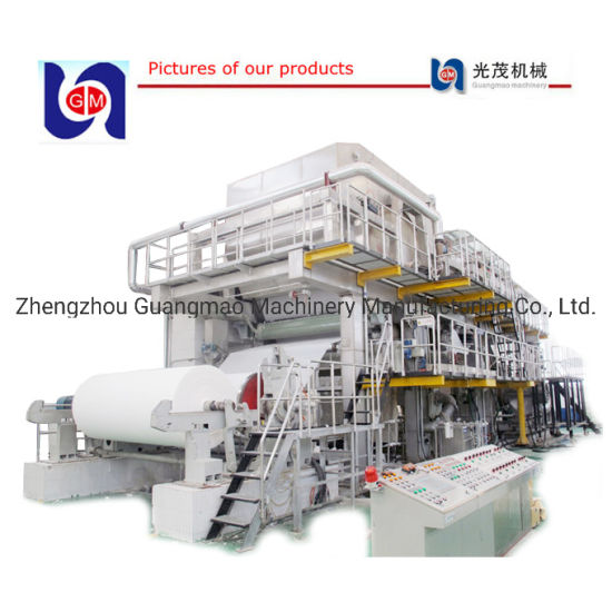 A4 Culture Paper Rolling Making Production Machine Line