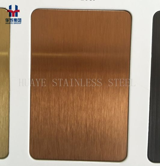 Hairline Satin Brushed Finished Stainless Steel Decorative Sheet Plate for Interior Decor Elevator Door Wall & China Hairline Satin Brushed Finished Stainless Steel Decorative ...
