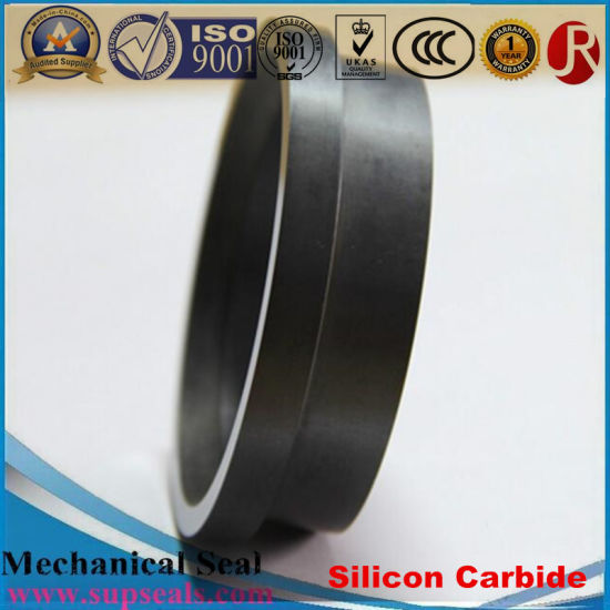 High Purity Refractory Rbsic (SSiC) Silicon Carbide Seal Rings pictures & photos
