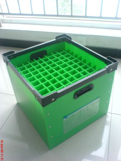 Shockproof Recycle PP Material Hollow Beverage Turnover Box pictures & photos