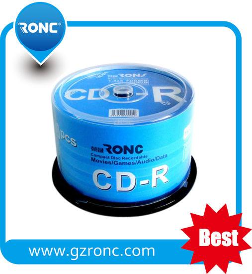 Compact Disc Customize Logo Blank CDR 52X 700MB