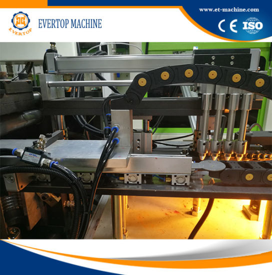 Linear Type Plastic Pet Preform Bottle Blowing Machine pictures & photos