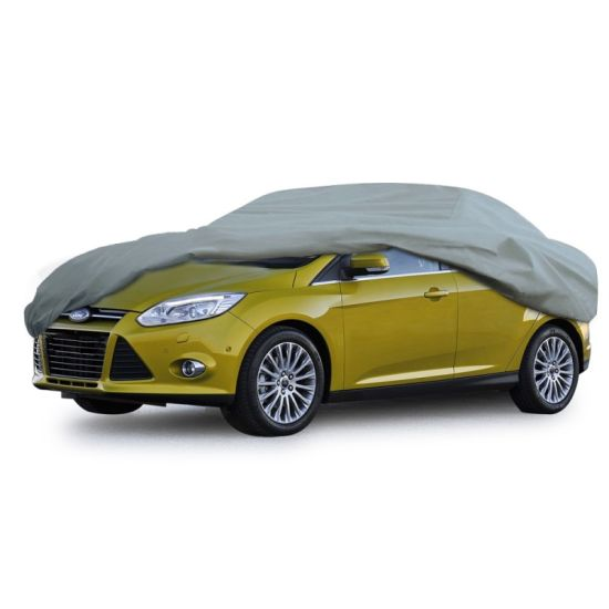 5 Layer Car Cover Xtreme Guard Waterproof Breathable Outdoor Indoor Sedan Cover up to 200