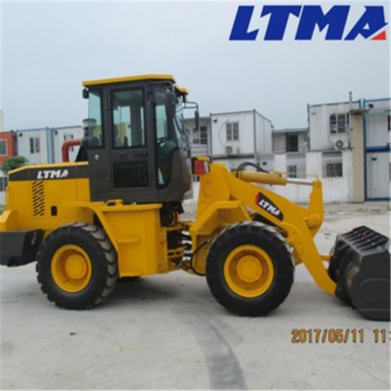 Ltma Loader 2t Compact Wheel Loader with 1.2 M3 Bucket Capacity pictures & photos