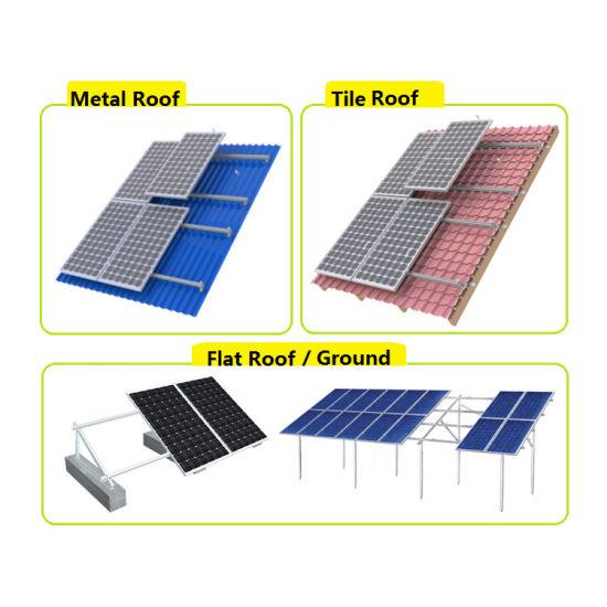 China Solar System 500kw 600kw 800kw with Huawei Sungrow
