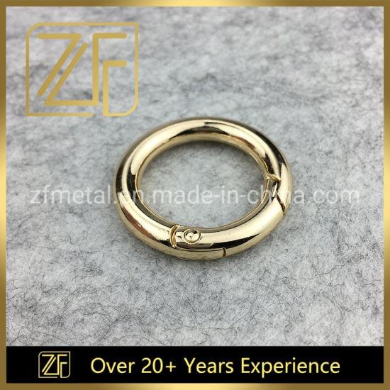 Metal Fittings O Ring Accessories Loop Strap Buckle for Shoe Garment Handbag Belt