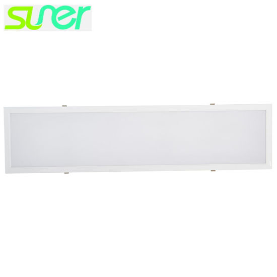 Bright Recessed Ceiling Light Back-Lit LED Panel Lamp 1X4FT (30X120cm) 40W 120lm/W 3000K Warm White pictures & photos
