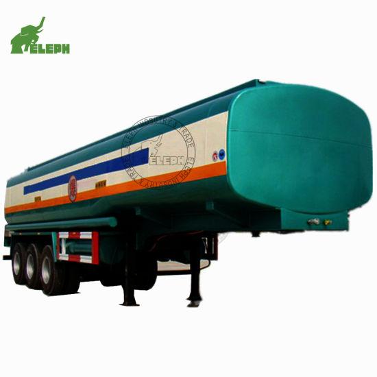 Storage Liquid Fuel 60000L Truck Semi Trailer Fuel Tanker From China