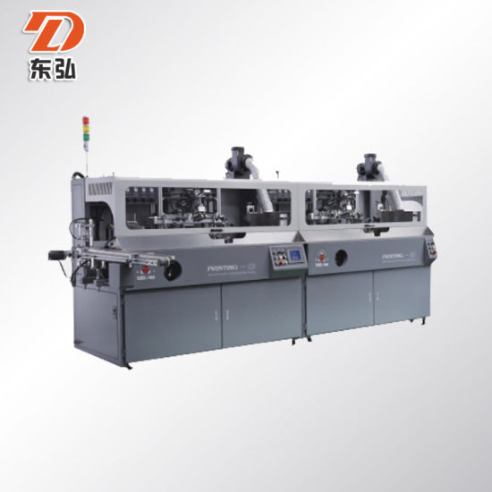 Automatic Plastic Bottles/Jars/ Serigraphy Screen Printing Machine with UV LED Curing