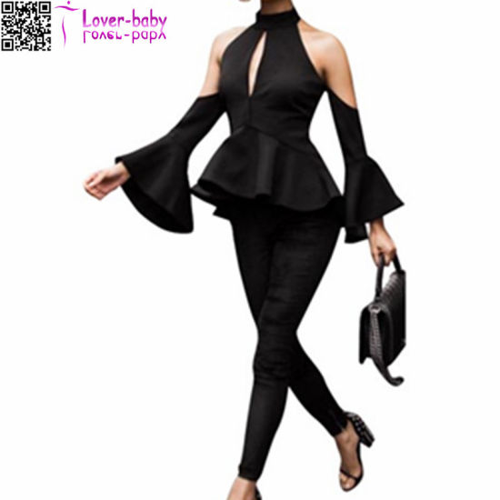 Indian Glamour Black Elegant Top L534 pictures & photos