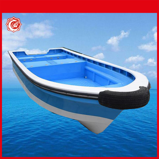 China OEM Wholesale Fiberglass Sea Fishing Kayak Paddle Boat for Sale