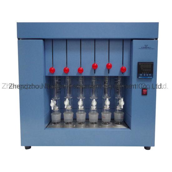 China Soxhlet Extractor Apparatus Crude Fat Analyzer China Fat Analyzer Crude Fat Analyzer