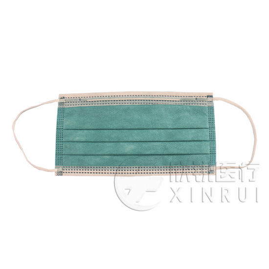 4-Ply Non-Woven Disposable Dental Face Mask with Ear Loop