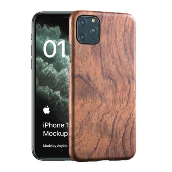 2020 Engraved Wood Phone Case Mobile Phone Case