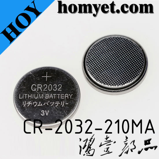 High Quality Lithium Manganese Coin Cell Lithium Cr Button Cell Battery pictures & photos
