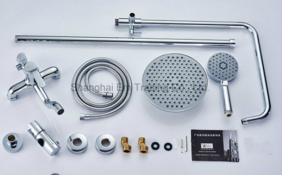 ABS Bathroom Shower Fitting Sanitary Accessories