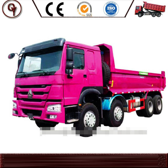 HOWO 30cubic 12 Wheels 371HP 8X4 Heavy Duty Tipper/Dump Truck