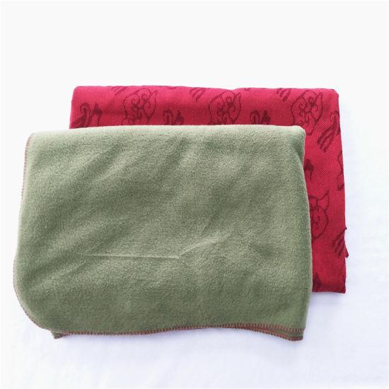 Travel Blanket Blanket Acrylic Sherpa Blanket Fleece