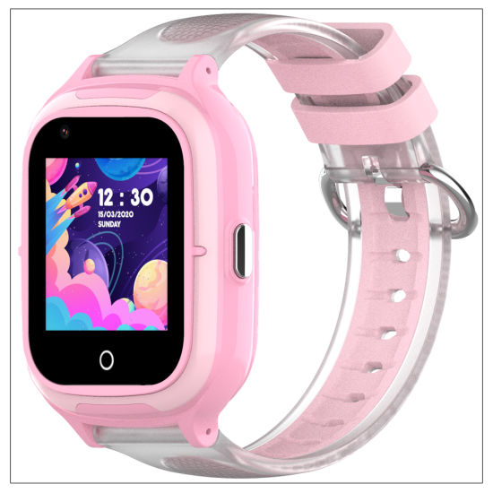 IP67 Waterproof Large Battery 4G Kids GPS Tracker Watch with Removal Alarm Alerts Kt23