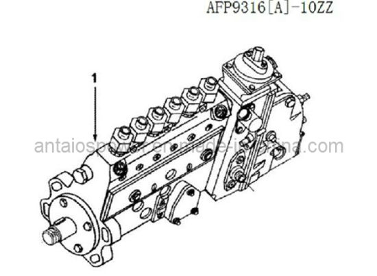 China Beijing High Quality Injection Pump Of Cummins Diesel Engine