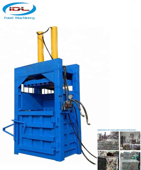 40t Hydraulic Baler with Double Cycliner for Waster Plastic Recycling
