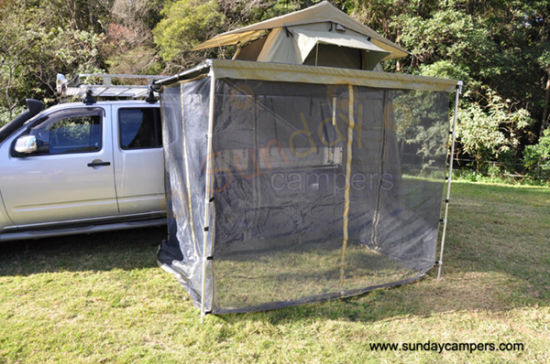 off Road Equipment Car Side Awning with Mosquito Net