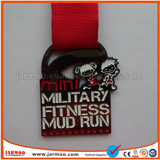 Metal Silver 3D Marathon Sports Medal pictures & photos