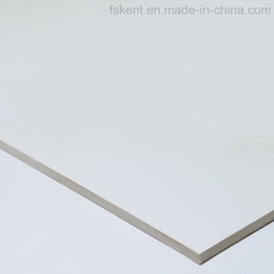 600X600mm Super White Full Glazed Porcelain Polished Tiles in Foshan pictures & photos