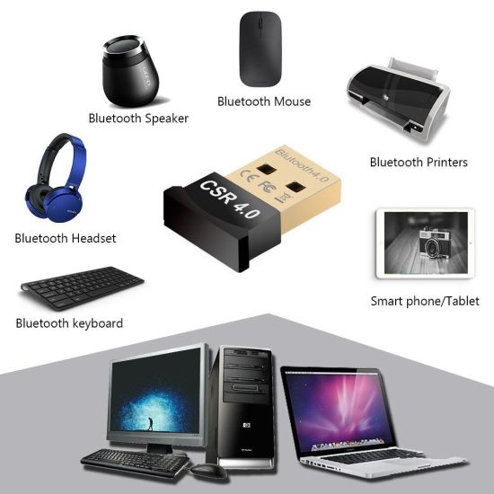 Promotion Manufacturer OEM USB Smart Adapter 4.0 Bluetooth Dongle pictures & photos