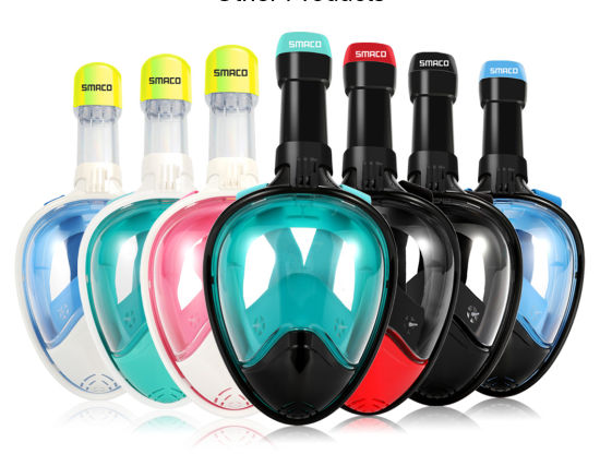 43f429a2d86 Scuba Diving Full Face Snorkeling Mask Snorkel Diving Equipment Swimming  Goggle