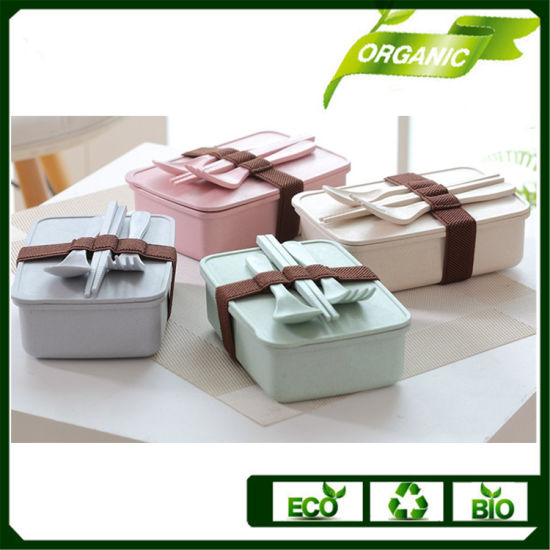 China Wholesale Eco Friendly Bamboo Fiber Biodegradable Food Lunch