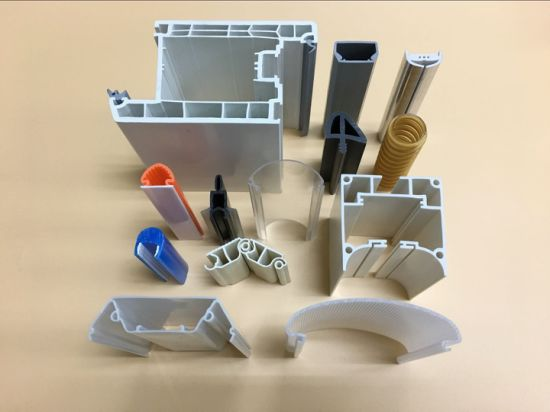 PVC, ABS, PC, PP Plastic Extrusion Product