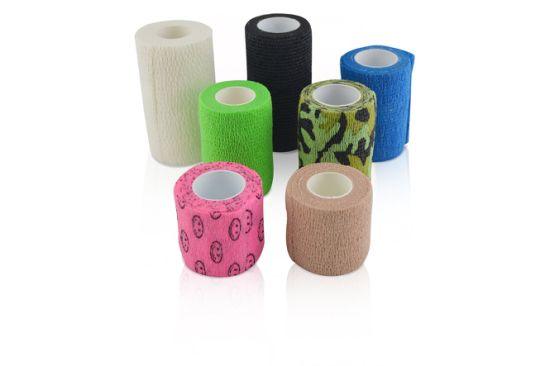 Medical Self Adhesive Bandage Wrap Cohesive Bandage