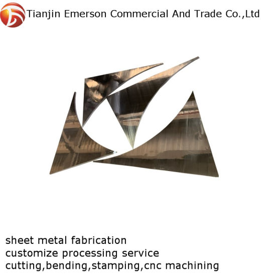 High Quality OEM ODM Custom Stainless Steel Sheet Metal Fabrication